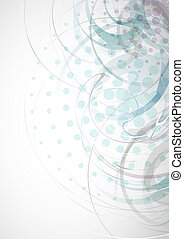 Abstract Light Blue Background. Vector Illustration. Eps 10.
