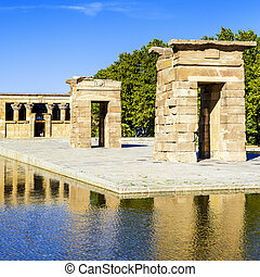 Temple of Debod Madrid - Temple of Debod Grec antic...