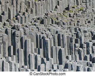 Basalt Columns - this picture of basalt rocks was taken in...