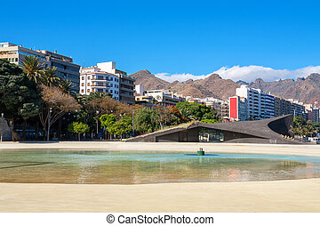 Santa Cruz de Tenerife. Canary Islands, Spain - Plaza de...