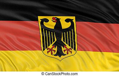 3D German flag