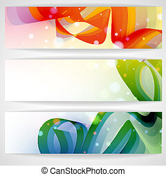 Colorful Abstract Banner.