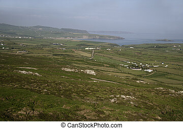 Llyn Peninsula coast line in Wales
