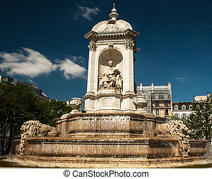 Fountain Saint-Sulpice
