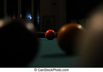Zoom - Boulle de billard