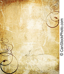 swirls on old wall texture grunge - old wall background...