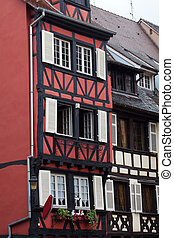 Half timbered houses of Colmar, Alsace, France