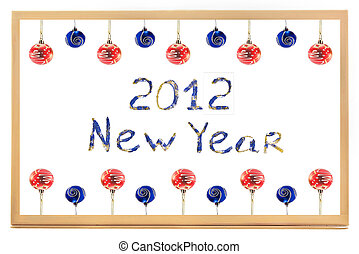 New Year 2012 - Background New Year 2012