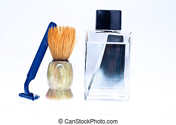 Shaving brush and accessories
