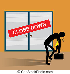 Business close down - Businesses fail as a result of poor...
