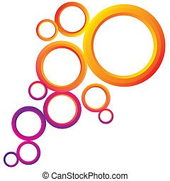 Abstract Background with Circles - An abstract background...