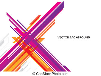 Abstract Background with Lines - An abstract background with...
