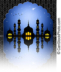 Mosque - illustration of mosque