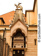 Scaliger Tombs in Verona - The Scaliger tombs in Verona,...