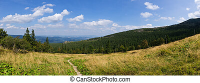 Landscape in Karkonosze mountains, Poland - Landscape in...