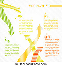 Vine infographic design Vector illustration
