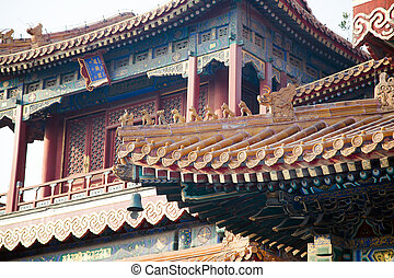 Yonghe Temple, also known as the Palace of Peace and Harmony...