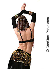 Belly dance - Eastern woman in belly dance
