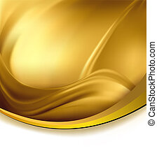 Business elegant gold abstract background Vector...