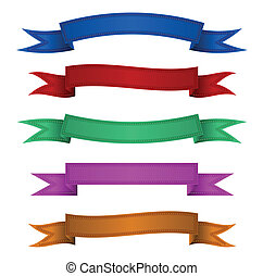Ribbon banner - can use for promotion and advertising