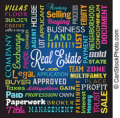 Real Estate Theme Background