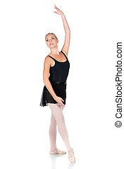 Female ballet dancer - Beautiful female ballet dancer...