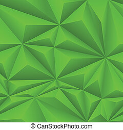 Green Abstract Polygon Background Tile - Green abstract...