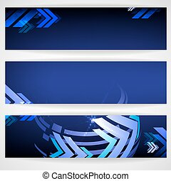 Arrow Blue Background With Place For Your Text.