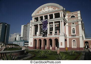 The Manaus Opera House (also known as The Amazon Theatre) is...
