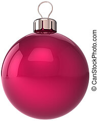 Christmas ball New Year bauble red - Christmas ball New Year...