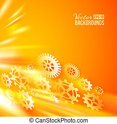 Technical background Vector illustration