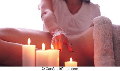 Hot Candle Wax Massage