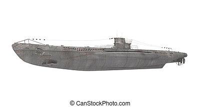 Submarine Isolated