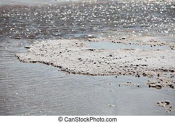 Dead Sea salt crystals