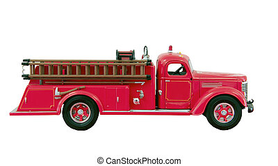 hook and ladder firetruck
