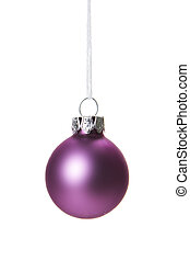 christmas ornament purple - christmas, pink christmas ball...