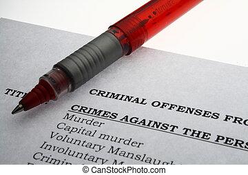 Crime paper