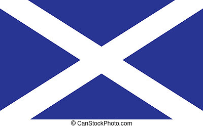 Scottish Flag - The official flag for Scotland - Part of the...