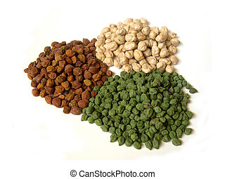 Tricolor Chick Peas Grouped 2