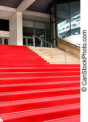 Red carpet in Cannes, France - Film festival red carpet in...