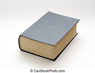 viejo, sólido, libro