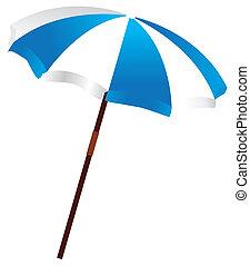 beach umbrella - vector beach umbrella