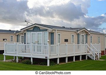 mobile home - Modern mobile home
