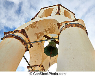 Bell tower - Traditional dome bell tower against sky on...