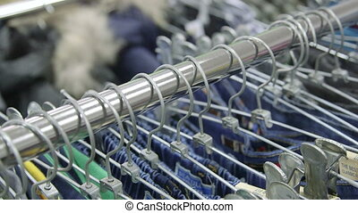 Dolly: Hangers on the rack