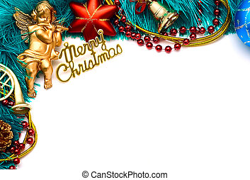Christmas frame for your congratulations and best wishes
