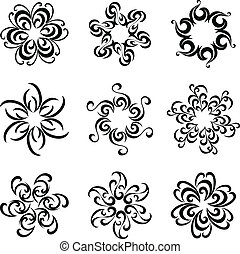 Graphical flowers