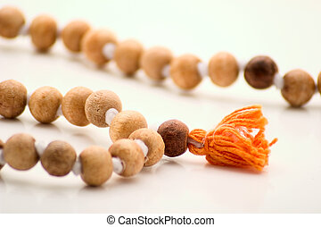 Rosary - Vedic wooden rosary consisting of 108 beads Their...