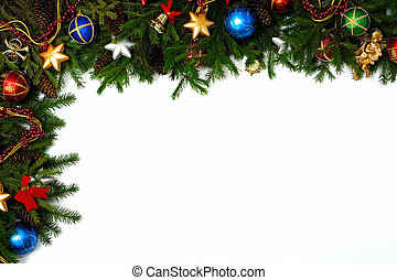 X-mas frame - Christmas frame for your congratulations and...