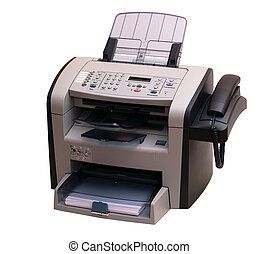 Fax - The modern multipurpose device: a fax, copier and the...